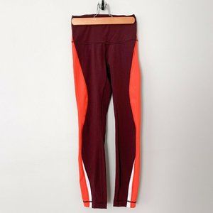 "Lululemon | Kick Serve Sweat Tight 25"" Bordeaux"